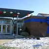 A huge blue ribbon was affixed to the exterior of the St Rose School building in September when the school and its community responded to earning the United States Department of Education's 2009 Blue Ribbon School Award. Find out what else happened during 2009 in Eliza Hallabeck's recap of the year in school news in the January 1, 2010 issue of The Newtown Bee. (Hicks photo)