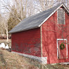 Located on Zoar Road, to the best of his knowledge, this ice house is one of only two remaining in all of Fairfield County, said town historian Dan Cruson. The other ice house is also in Sandy Hook.  (Crevier photo)