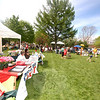 The third annual Newtown Earth Day Celebration took place on Saturday, April 24. Vendors, student groups and local environmental groups had booths and tents set up across the front lawn of Newtown Middle School.  (Bobowick photo)