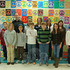 Reed Intermediate School music teachers Phil Beierle, back row on the left, and Robert Nolte, back row on the right, stand with Reed students who were selected to participate in the Westport Community Band Youth Band Program. Participation is based on teacher recommendations, made this year by Mr Beierle. The students selected for this year's program are, not in order, flutists Ashley Gong, Rebecca Romano, Enely Sokk; clarinetist Sophie Kennen; trumpet players Matthew Ingwersen, Jackson Pacchiana, Marissa Thill; trombone players Andrew Pirner, Hunter James, Cally Peterson, Haley Williams; baritone horn player Scott Alexander; and percussionist Stephen Faxlanger.  (Hallabeck photo)
