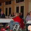 "Approximately 36 community members and business people, including former Newtown state representative Mae Schmidle, center, and Robert Michalik from the office of Con-gressman Christopher Murphy, seated with Ms Schmidle, attended a February 18 meeting to unite the Stony Hill, Bethel, and Hawleyville areas. ""It's amazing when you get a concerted effort how much of a change that can make,"" Mr Michalik told the crowd.  (Crevier photo)"