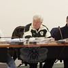 Members of the Board of Finance, from left, Chairman John Kortze, Harrison Waterbury, and Michael Portnoy commenced their first meeting to begin receiving information about the 2010-11 budget on February 22. The board was scheduled to continue its budget meetings February 25 after The Bee went to press, with a public hearing, receiving the school district's budget proposal, and a planned resolution to request the school district share in the town's recent budget revenue shortfall.  (Voket photo)