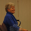 In addition to a panel discussion, Church Women United-Newtown's 2010 Human Rights Celebration also included the surprise presentation of a CWU Valiant Woman Award to Linda Manganaro.  (Bobowick photo)