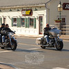 The warm weekend days of March 6-7 found sunlight melting lingering heaps from February's last snowstorm and Newtown's waterways running rapidly as the ground thawed. Motorcycle riders celebrated the weekend's 50-degree weather with the year's first ride despite the sandy roads, and Sandy Hook Center rumbled with their traffic. Throughout town T-shirts and shorts were spotted, and many people out for a walk turned their faces toward the sun.  (Bobowick photo)