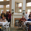 "The public was invited to enjoy the dishes prepared for ""Newtown's own version of The Iron Chef"" on Thursday, March 4, at The Homesteads Assisted Living facility on Mt Pleasant Road.  (Crevier photo)"
