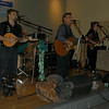 Keltic Kick once again provided the live music for the St Rose Irish Cabaret, which returned to the church's Gathering Hall on Saturday, March 13.  (Hallabeck photo)
