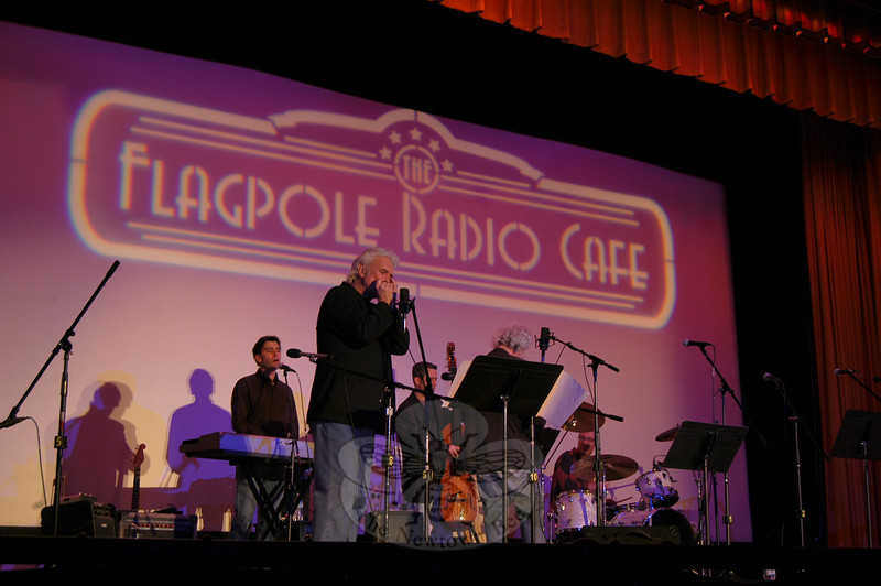 The latest installation of Flagpole Radio Cafe was offered Saturday, March 13, at Edmond Town Hall. (Hallabeck photo)