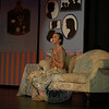 Newtown Middle School student Megan Primavera played the part of Marian Paroo, the town's librarian who discovers Harold's secret in The Music Man. The show was presented March 5-7. (Hallabeck photo)