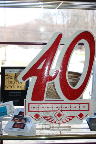 The 40th anniversary of Julie Allen Bridals was April 1.  (Creveir photo)