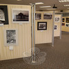 Photographs in the Flagpole Photographers Camera Club's Annual Competition and Exhibit went on display on Saturday, April 10, and will remain on view in the library's meeting room through the end of the month.  (Hallabeck photo)