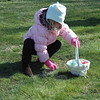 Scrambling children were among the many youths who attended the town's annual Spring Egg Hunt held at Dickinson Park. Two egg hunts were conducted, one for younger children, and the second for an older age group.  (Gorosko photo)