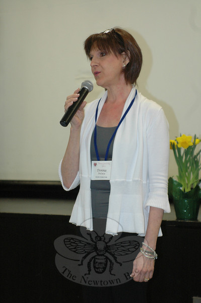 Newtown Parent Connection Co-Founder Donna DeLuca.  (Voket photo)