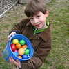 Children at Newtown Congregational Church enjoyed their annual Easter egg hunt last weekend, on Palm Sunday.  (Hicks photo)
