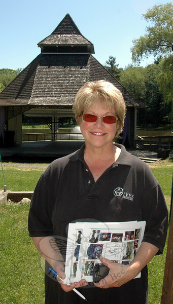 Newtown resident Phyllis Cortese is celebrating her third year as Executive Director of Ives Concert Park, situated on more than 40 acres adjacent to the westside campus of Western Connecticut State University in Danbury.  (Voket photo)
