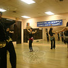 The members of Egyptian Sunrise practice their belly dancing every Thursday night at the Dance, Etc studio on Mt Pleasant Road in Newtown. The group will be performing on March 6 in Bethel.  (Hicks photo)