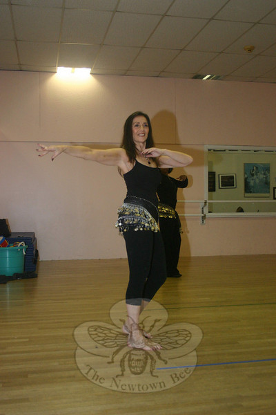 """""""Historically, the genre of belly dance has promoted a strong connection among women, and this is true for me,"""" said Egyptian Sunrise belly dancer Michelle Mattiaccio. """"I have been able to both enhance and share joy, celebration and philosophical commonalities with my sister dancers.""""  (Hicks photo)"""