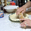 """""""Cold, cold, cold,"""" is the key to successful pie crust, and using a gentle touch when rolling out the dough, says cooking expert Lorraine Hurley.  (Crevier photo)"""