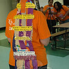 "Newtown's 2010 Relay Chair Addie Sandler donned this creatively decorated headgear, which attracts plenty of attention to this year's Relay theme, ""Celebrating More Birthdays.""  (Voket photo)"