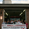 Members of Sandy Hook Volunteer Fire & Rescue Company invite the public to join them for the company's 23rd Annual Lobsterfest on Friday, June 11, and Saturday, June 12. The event will be held at the company's Riverside Road firehouse. Hours on Friday are 5 to 9 pm, and on Saturday from 3 to 9 pm. Ticket prices have been held at $22 in advance and $24 at the door for the third year, and can be purchased in advance at the Newtown fire marshal's office within Newtown Municipal Center, at The Newtown Bee offices at 5 Church Hill Road, or at the Riverside Road Firehouse. The event is a fundraiser for the fire company.  (Hicks photo)