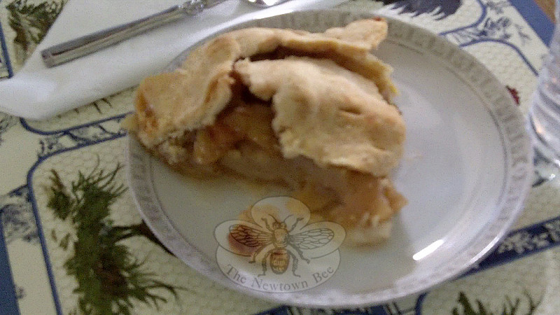 A flaky crust, lightly browned is the crowning glory of a homemade pie.  (Crevier photo)