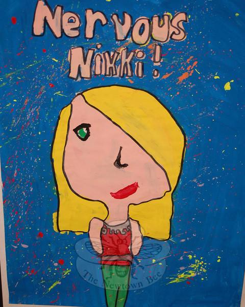 """Nervous Nikki"" by Nicole Lillis.  (Hallabeck photo)"
