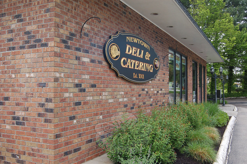 Patrons have been enjoying the extensive menu of 18 specialty sandwiches, hot sandwiches, burgers, soups, salads, and a full breakfast menu since Artie Praino opened Newtown Deli & Catering at 79 South Main Street in 2001.  (Crevier photo)