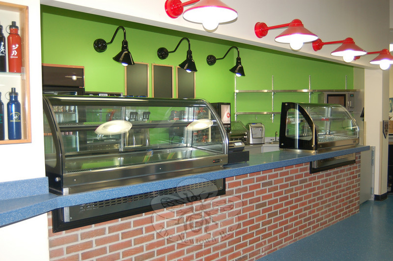 As of May 2010, customers can enjoy the same great food and more that they find at Newtown Deli & Catering, with the opening of Newtown Deli & Catering Presents The Sideline Café, at Newtown Youth Academy.  (Crevier photo)