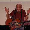 Folk singer and social activist Peter Yarrow was the guest artist on the evening of Saturday, May 22, at the season finale of The Flagpole Radio Café at Edmond Town Hall.  (Gorosko photo)