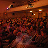 A capacity crowd filled the theater at Edmond Town Hall for the season finale of The Flagpole Radio Café on May 22.  (Gorosko photo)