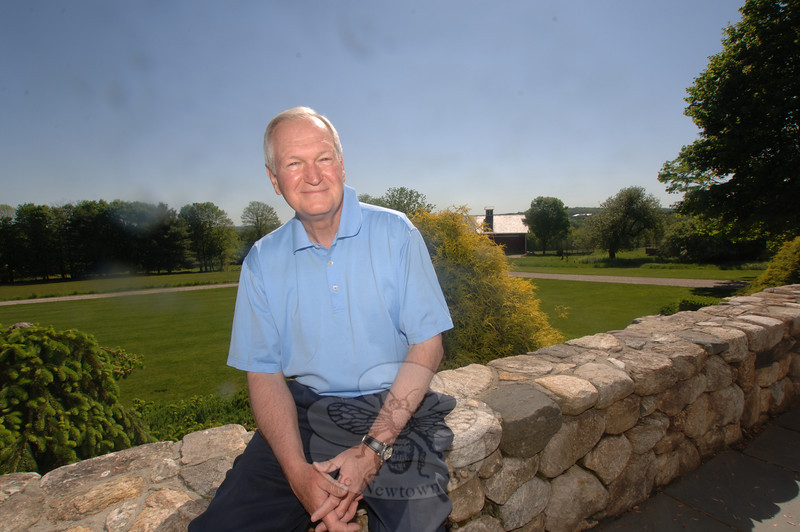 Bob Geckle, who has been part of the process to redevelop the buildings and grounds of Fairfield Hills since the state purchased the more than 180-acre core portion of the state's land in 2001, will resign as chairman of the Fairfield Hills Authority on May 31.  (Bobowick photos)