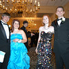 From left, Tim Arnone, Claire McKenna, Aimee Frier, and Patrick McGrath stand together after arriving at the 2010 Newtown High School Senior Prom on Saturday, May 1.  (Hallabeck photo)