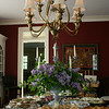 To celebrate the publication of Sydney Eddison's newest book, Gardening for a Lifetime, The Garden Club of Newtown hosted high tea at The Dana-Holcombe House on Sunday, May 2. Following a 45-minute reading by Mrs Eddison, guests were treated to hot tea and plenty of finger foods prepared by the garden club's members.  (Hicks photo)