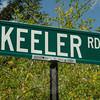 John Heath's residence in Bridgewater is on the corner of Keeler Road and Clapboard Road.  (Gorosko photo)
