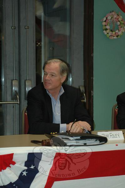 Ambassador Tom Foley  during the GOP Gubernatorial Forum on March 24.  (Voket photo)
