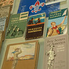 A table full of Boy Scouting collectibles, memorabilia and manuals was on display at Newtown Troop 70's annual awards dinner. The material illustrated much of the last century's development of the tight-knit service organization on the occasion of Scouting's 100th Anniversary.  (Voket photo)