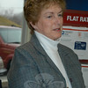 Governor M. Jodi Rell during the grand reopening ceremonies for Hawleyville Post Office on March 22.  (Crevier photo)