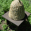 A bee skep at The Matthew Curtiss House.  (Gorosko photo)