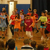 "During Middle Gate Elementary School's last community circle of the 2011-12 school year held on Friday, June 8, fourth grade students performed a song to say goodbye to the assembled school community. The focus of the community circle was ""trustworthiness,"" one of the pillars on the district's Core Character Attributes tree.   (Hallabeck photo)"