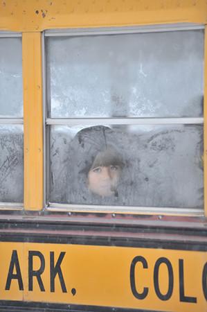 Frosty Bus Ride
