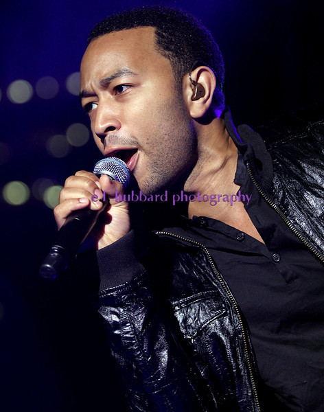 E.L. Hubbard photography<br /> John Legend performs during the Downtown Dayton Revival Saturday, Sept. 8, 2012.
