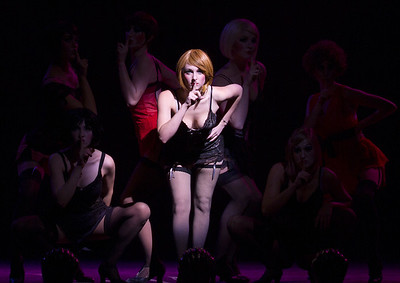 A scene from the Cabaret production at ECU Theater.