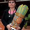 Jackeline Rojas ganó el premio de la categoría «Reconocimiento a toda una vida». Jackeline es defensora de los derechos humanos en Barrancabermeja, con 25 años de trayectoria en la labor. Es miembro de la Organización Femenina Popular que lleva cuatro décadas organizando, formando y movilizando mujeres para hacerlas defensoras de sus derechos y generadoras de proyectos de vida digna para sus familias. «Este es un reconocimiento a un trabajo colectivo, de esfuerzo de las mujeres, de las comunidades», dijo Jackeline al recibir su premio.