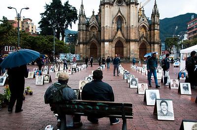 La desaparición forzada sigue siendo una realidad en Colombia. La Mesa de trabajo sobre Desaparición Forzada de la Coordinación Colombia-Europa-Estados Unidos registró 28 casos durante 2011.