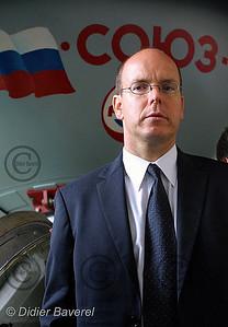 *legende* Visite de SAS Le Prince Albert en Russie en Juillet 2001