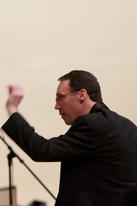 (1) Slug #: W 00018981; (2) Ridgewood, NJ; (3) 03/13/09; (4) Pro Arte Chorale Presents A Tapestr of Love, Life and Song in 2nd Concert of 45th Season at Westside Presbyterian Church; (5) David Crone conducting the Pro Arte Chorale on 3/13/2009; (6) W.H. GRAE for The Ridgewood News
