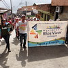 PBI acompañó a los manifestantes durante el agradecimiento de despedida que realizaron a la comunidad de Valdivia, que los apoyó durante los 20 días que duró la protesta.