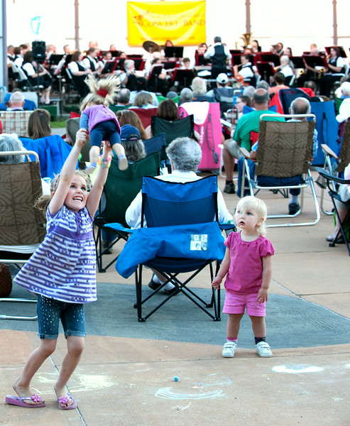 Auburn Community Band plays their last summer concert