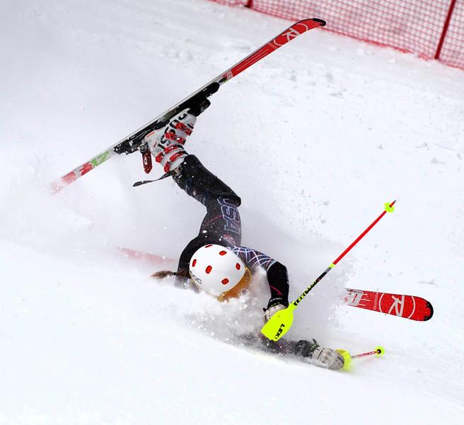 Nature Valley U.S. Alpine Championship Ladies Slalom at Sugarloa