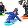 No school sledding