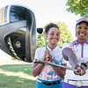 Mia Hornberger, left, and her mother Prudence are a force on the golf course.  (Russ Dillingham/Sun Journal)